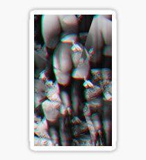 Modern Vintage Flapper Art Nude Trompe L'oeil Boudoir Sticker
