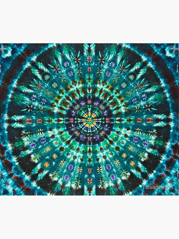 Tie-Dye Turquoise by Tiltedgiraffes