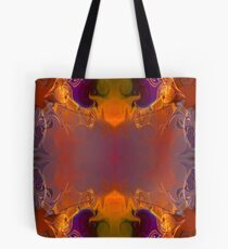 A Rainbow Of Life Abstract Living Art Tote Bag