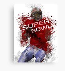 Super Bowl Art 1 Canvas Print