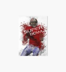 Super Bowl Art 1 Art Board