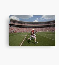 American Football Photo 2 Canvas Print
