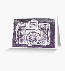 Holga Greeting Card