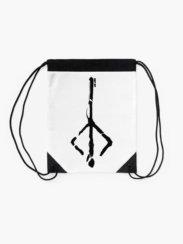 Alternate view of Hunter mark Drawstring Bag