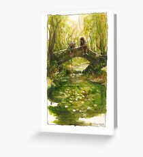 Shire bridge Greeting Card