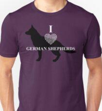 I Lover German Shepherds - Loyalty Gear T-Shirt