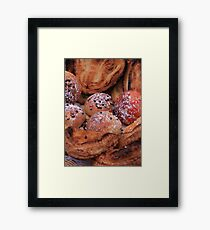 French bread by ProvenceProvence  Framed Print
