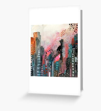 Magical City Greeting Card