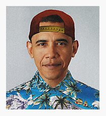 Obama, The Creator Photographic Print