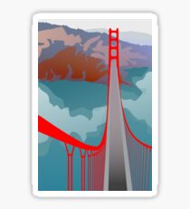 Golden Gate Bridge - San Francisco Sticker