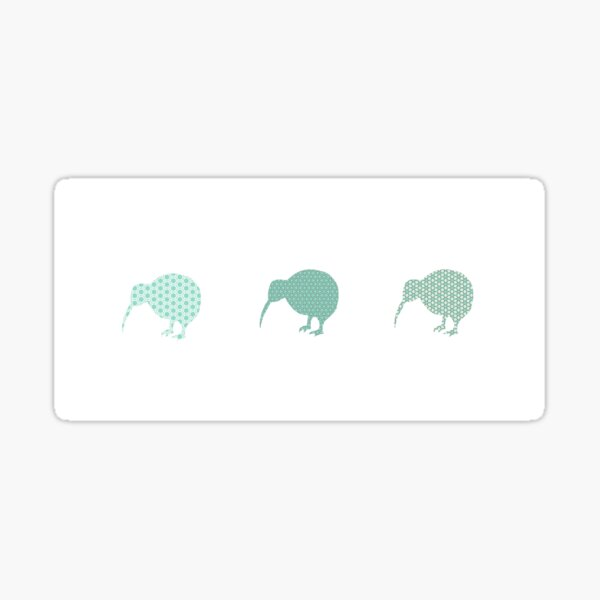 Kiwis Sticker