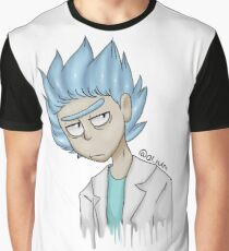 Rickity Rolled (Rick and Morty) Graphic T-Shirt