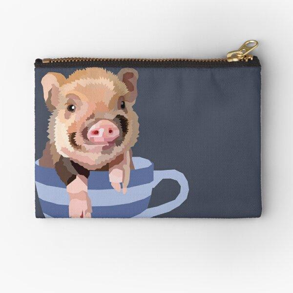 Teacup Pig Zipper Pouch