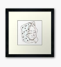 Bonnet Framed Print