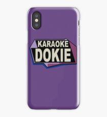 Karaoke Dokie iPhone Case/Skin