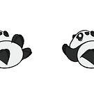 Tumbling Panda Bear by Articles & Anecdotes