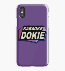 Karaoke Dokie 2 iPhone Case/Skin