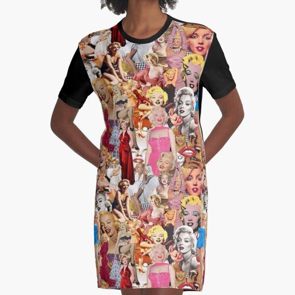 Marilyn Monroe Graphic T-Shirt Dress