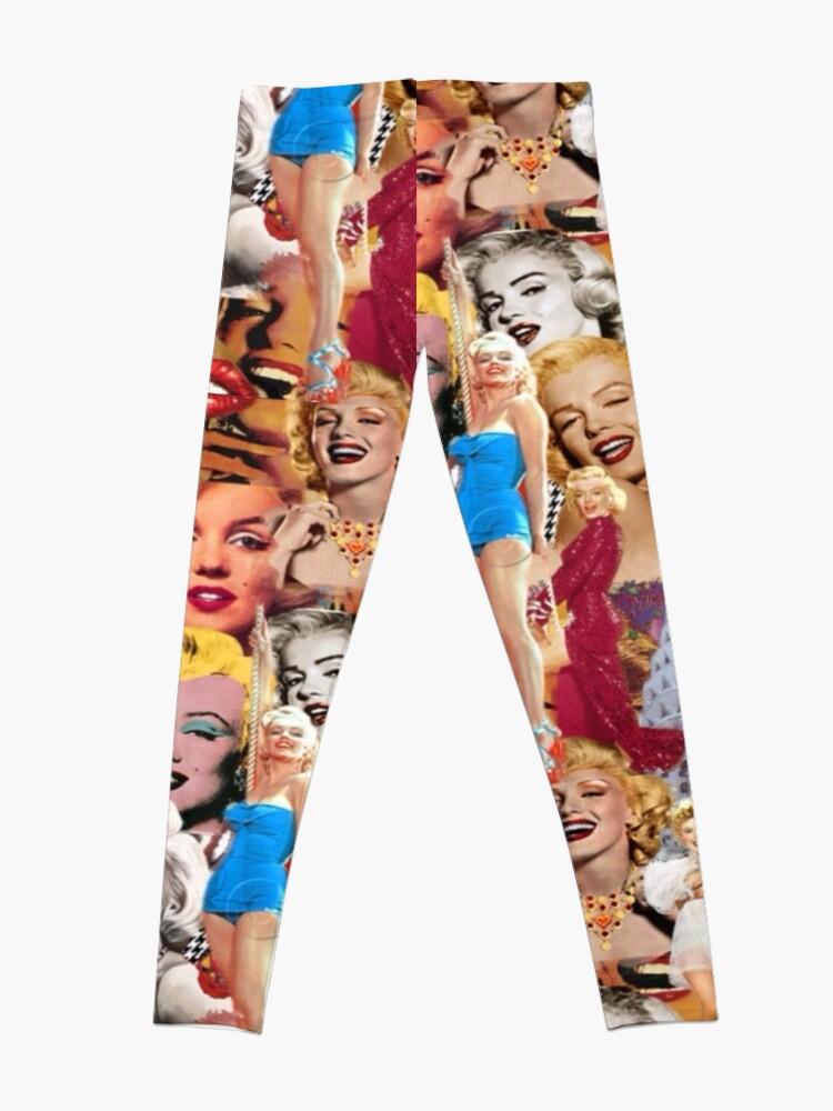 Alternate view of Marilyn Monroe Leggings