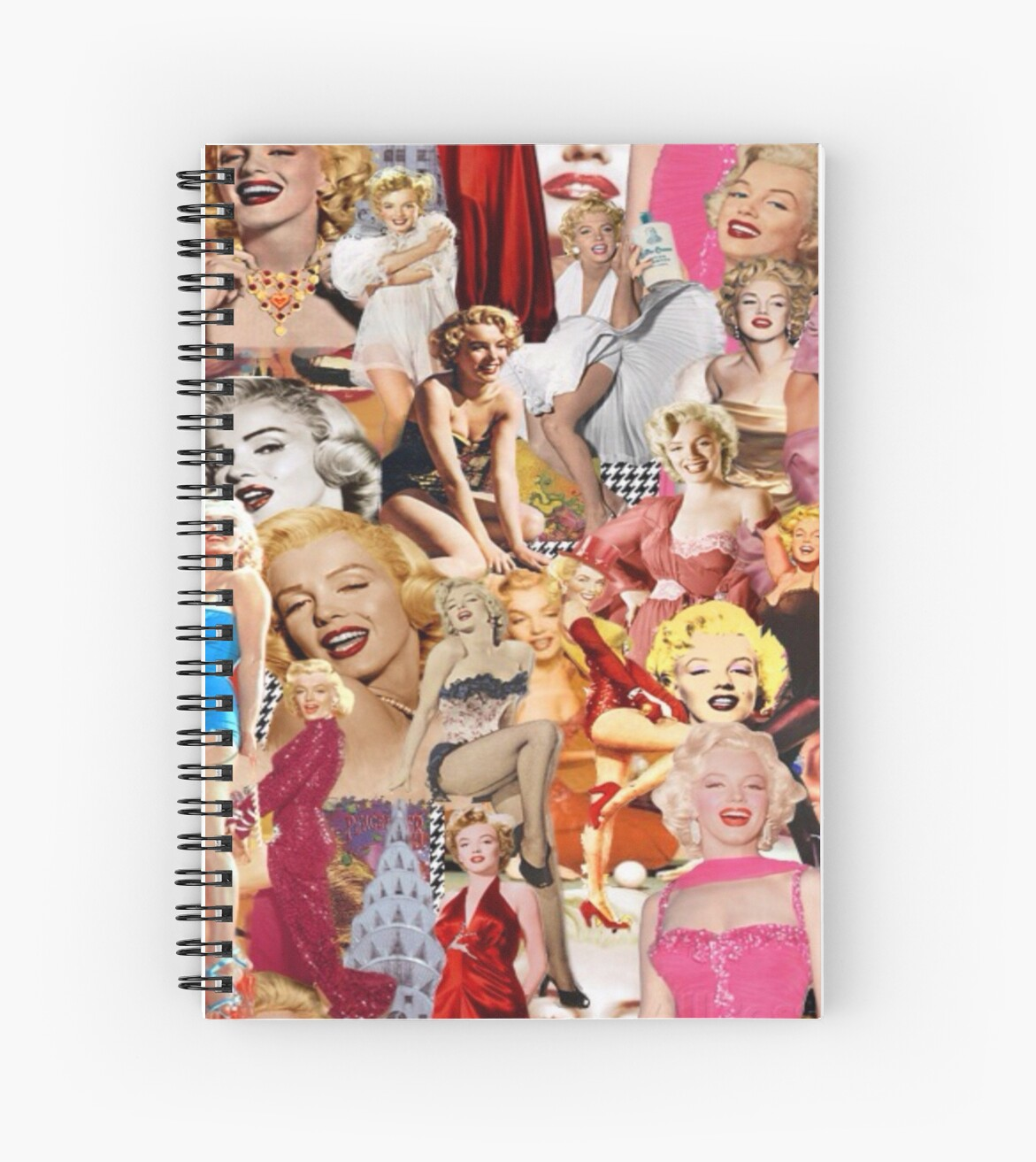 Quot Marilyn Monroe Quot Spiral Notebook By Effydev Redbubble
