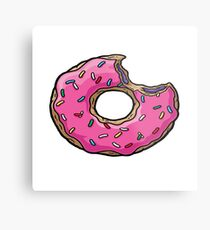 Simpsons Donut Metal Print
