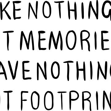 Footprints Adventure Text Memories by tbootz
