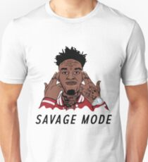 "21 Savage ""Been In Savage Mode""  T-Shirt"
