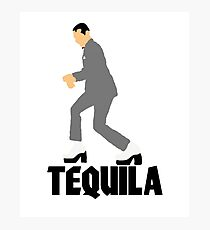 Pee Wee Herman Tequila Movie art Photographic Print