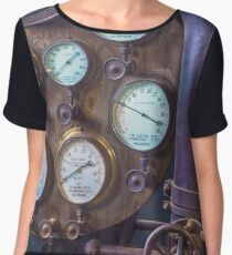 Heritage Pipes and Gauges Women's Chiffon Top