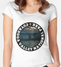 Cuyahoga Valley National Park Women's Fitted Scoop T-Shirt