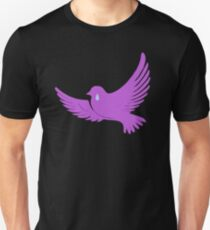 When Doves Shed Purple Tears or Cry Rain Unisex T-Shirt