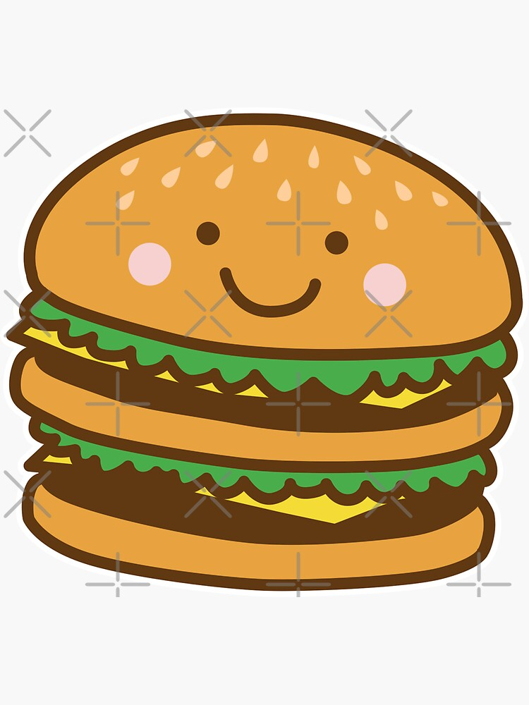 Cute Hamburger by DetourShirts