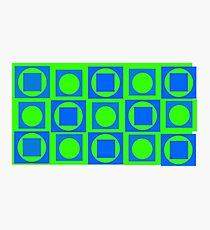 Green-Blue Mix Photographic Print