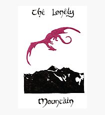 The Lonely Mountain Photographic Print