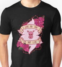 I Love You Lion Unisex T-Shirt