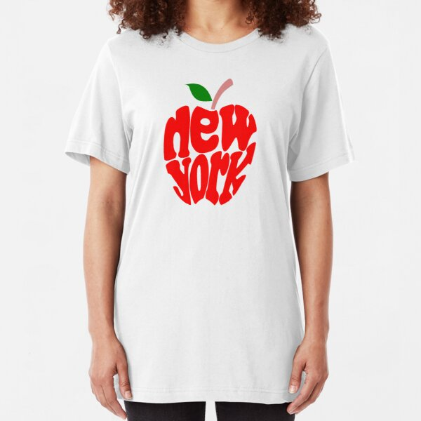 Big Apple New York Slim Fit T-Shirt