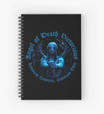 Angel of Death Victorious Spiral Notebook