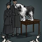 Old English Sheepdog - 1917 by bluebell42