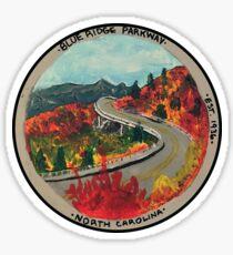 Blue Ridge Parkway- Viadukt Sticker