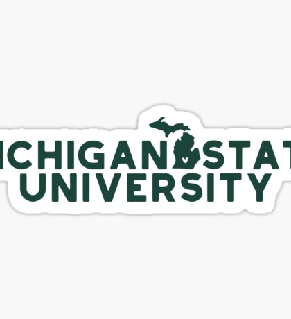 Michigan State University - Style 19 Sticker