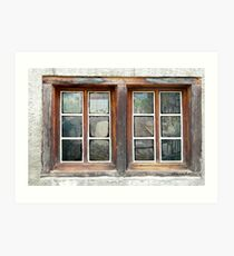 Looking Inside the Old Potting Shed Art Print