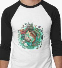 Ghibli Tribute Men's Baseball ¾ T-Shirt