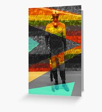 SOLDIER ON Greeting Card