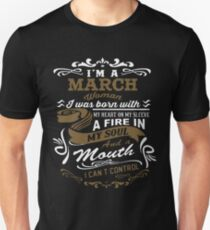 I'm a March woman shirt Unisex T-Shirt