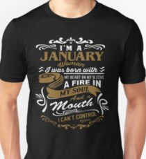 I'm a January woman shirt T-Shirt