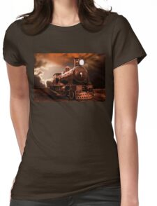The Final Trip Home Womens Fitted T-Shirt