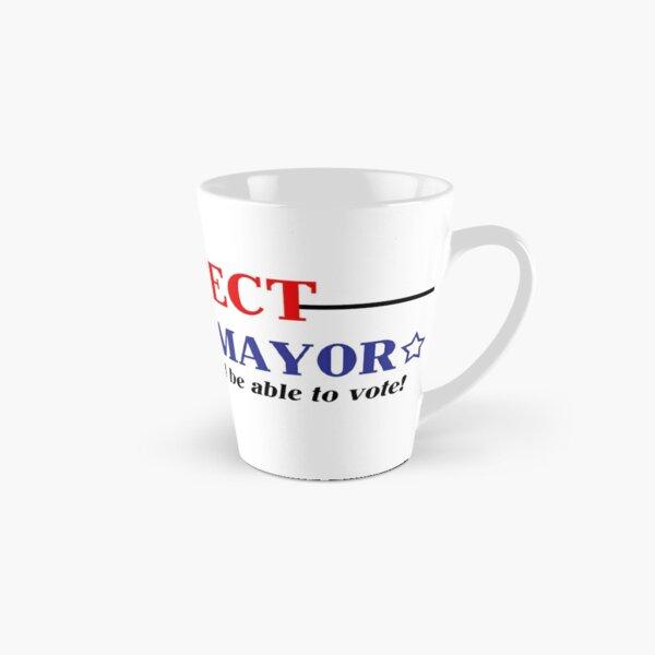 Wählen Sie den Bürgermeister von Second Life wieder! Tasse (konisch)
