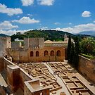 The Ancient Alcazaba Fortress by Edwin Davis