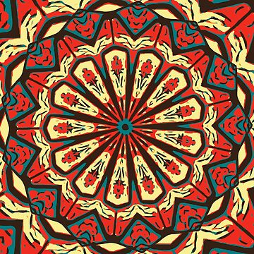 Spanish Mandala by tastypaper
