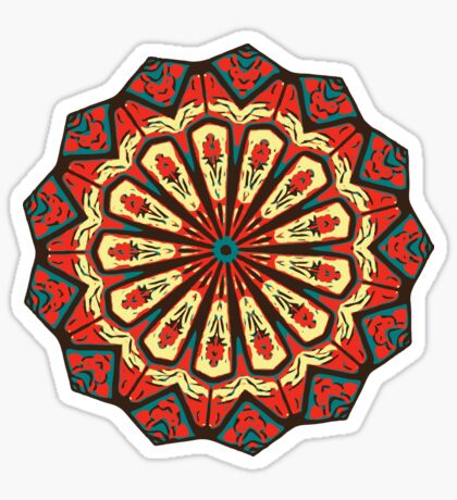Spanish Mandala Sticker